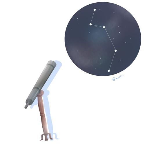 ぼうえんきょう座(Telescopium)