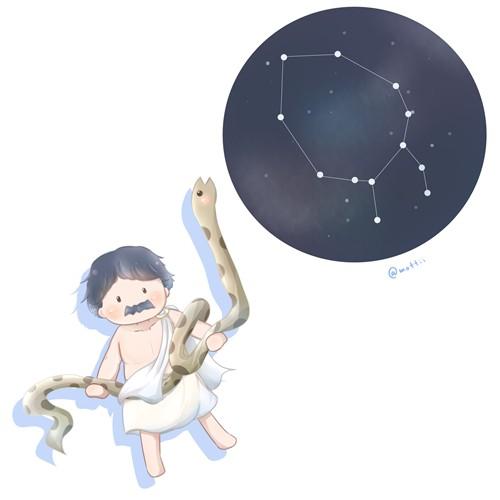 へびつかい座(Ophiuchus)