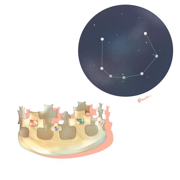 かんむり座(Corona Borealis)