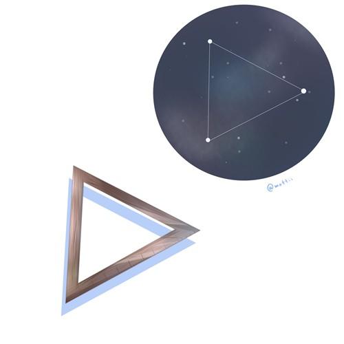 みなみのさんかく座(Triangulum Australe)