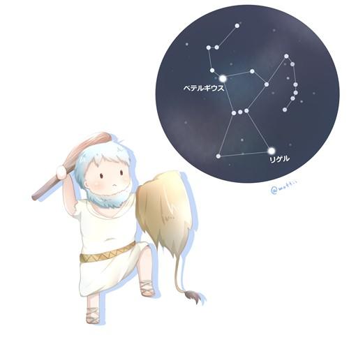 オリオン座(Orion)