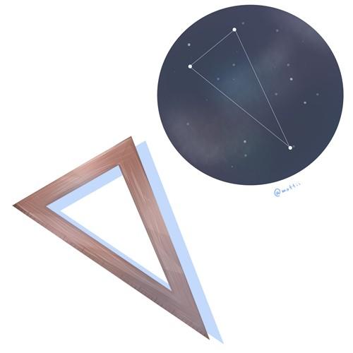 さんかく座(Triangulum)